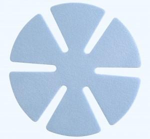 BLUE PAD 89 MM