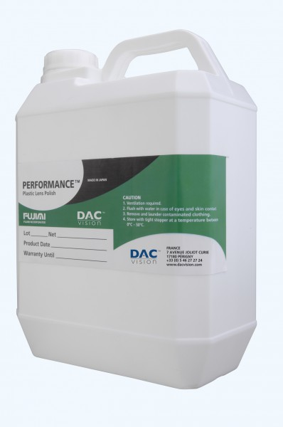 PERFORMANCE PLASTIC LENS POLISH - 1 GALLON